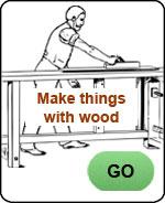 bored men woodworking