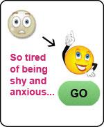 bored help women shyness anxiety